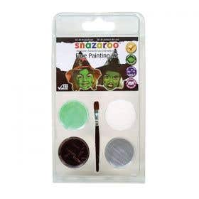 Snazaroo 3 Colour Clams Wicked Witch