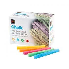 EC Dustless Economy Classroom Chalks