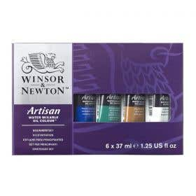 Winsor & Newton Artisan Water Mixable Oil Colour Beginner Set