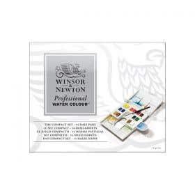 Winsor & Newton Professional Water Colour Half Pan Compact Set