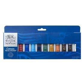 Winsor & Newton Cotman Watercolour 12x8ml Tube Set