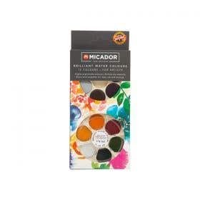 Koh-I-Noor Brilliant Water Colour Discs