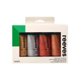 Reeves Fine Artist Quality Acrylic 75ml Paint Sets
