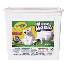Crayola Model Magic White Bucket