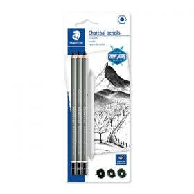 STAEDTLER Mars Lumograph Charcoal Pencil Set