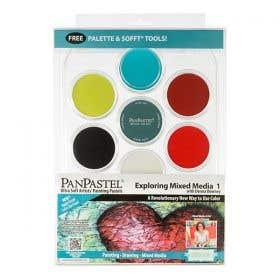 PanPastel Ultra Soft Artist Pastel Exploring Mixed Media Set