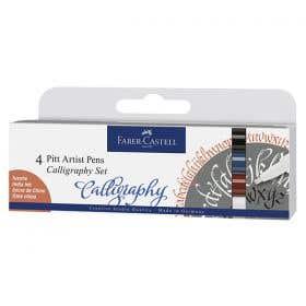 Faber-Castell Pitt Artist Pens Calligraphy Sets