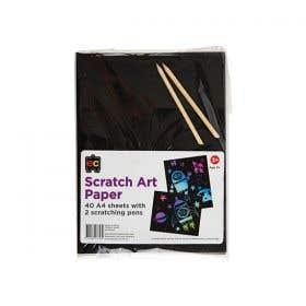 EC Scratch Art Pack