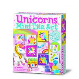 4M Unicorns Mini Tile Art Kit