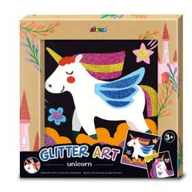 Avenir Glitter Art Unicorn Kit