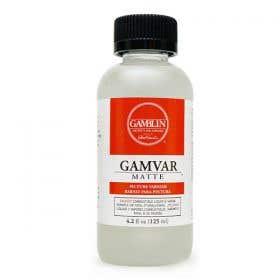 Gamblin Gamvar Matte Varnishes