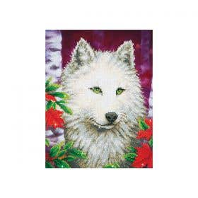 Diamond Dotz White Wolf Kit
