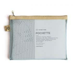 Papier Tigre Transparent Pocket Pencil Cases