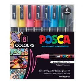 Posca Marker Fine (PC-3M) Sets