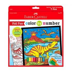 Faber-Castell Colour By Numbers (T-Rex)