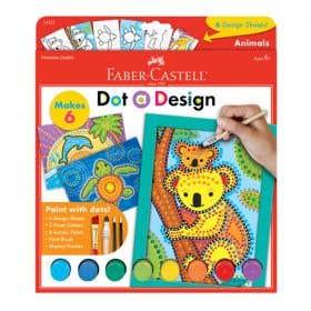 Faber-Castell Dot A Design Animals Set