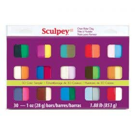 Sculpey III Sampler Set