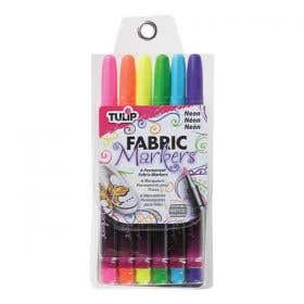 Tulip Fabric Marker Neon Set