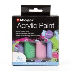 Micador Acrylic Pastel Paint Set