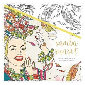 Kaisercraft Sama Sunset Colouring Book