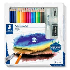 STAEDTLER Design Journey Mixed Water Colour Set