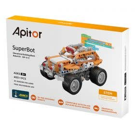 Johnco Apitor SuperBot 18-in-1 Coding Robot Kit