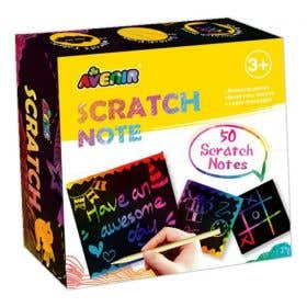Avenir Scratch Note Book
