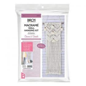 Birch Macrame Chevron & Tassles Kit