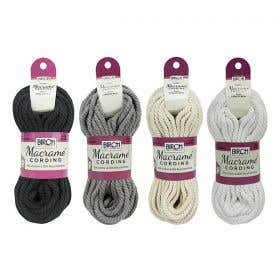 Birch Macrame Cord Hanks