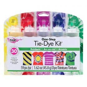Tulip One Step 5 Colour Tie-Dye Rainbow Kit