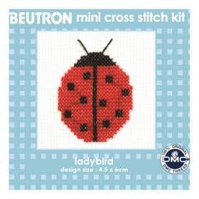 Beutron Ladybug Cross Stitch Kit
