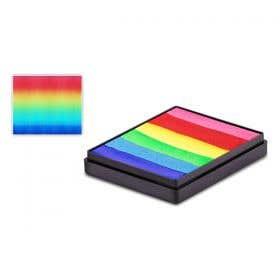 Global Colours Body Art Brightest Rainbow Split Cake