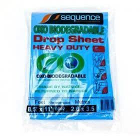 Sequence Pro Bio-Degradable Heavy Duty Plastic Drop Sheet