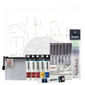 Global Village Sketch & Paint Kit