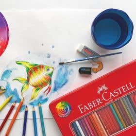 Faber-Castell Red Range Water Colour Pencils