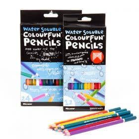 Micador Water Soluble Colourfun Pencils