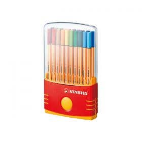 STABILO Point 88 Fineliner ColourParade Pen Set 20