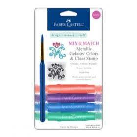 Faber-Castell Gelatos & Stamp Mix & Match Sets