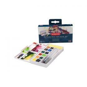 Derwent Inktense Paint Pan Travel Sets