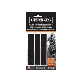General's Compressed Jumbo Charcoal Sticks Set