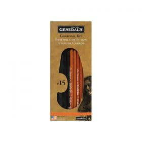 General's Charcoal Pencil Kits