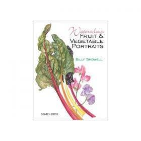 Watercolour Fruit & Vegetable Portraits (Soft Cover) Book