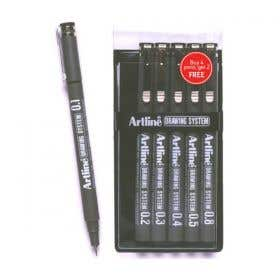 Artline 231 Technical Drawing Pen Set