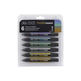 Winsor & Newton Metallic Markers Set