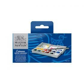Winsor & Newton Cotman Water Colour Half Pan Sketchers' Pocket Box