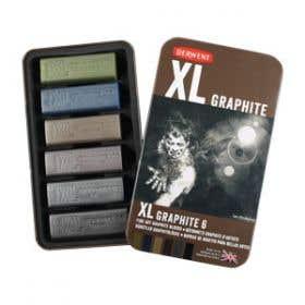 Derwent XL Graphite Tin 6