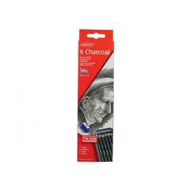 Derwent Charcoal Pencils Tin 6