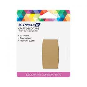X-Press It Kraft Deco Tape Roll