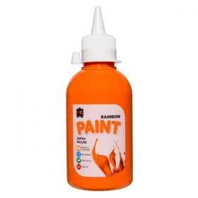 EC Rainbow Acrylic Paints 250ml