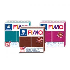 STAEDTLER FIMO Leather Effect Modelling Clays 57g